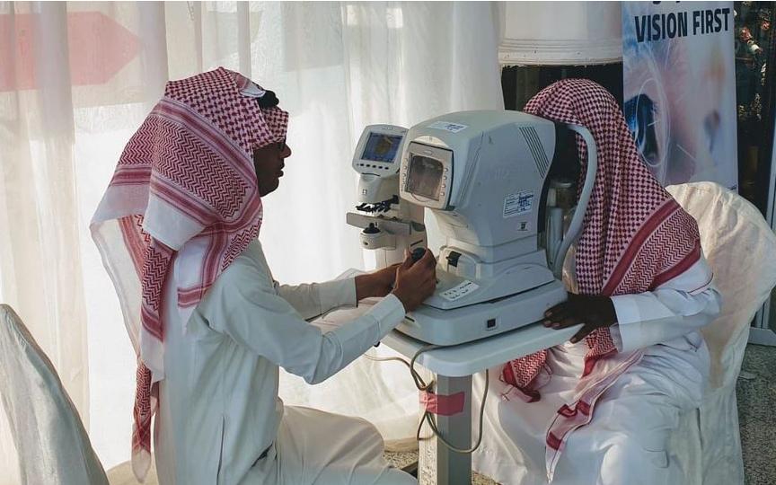 اللجنة الوطنية لمكافحة العمى تقيم فعالية في مركز غرناطة مول بالرياض مساء اليوم